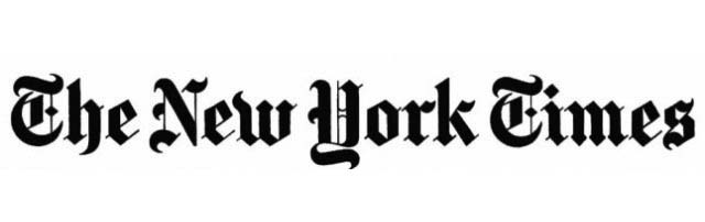 As Published in the New York Times